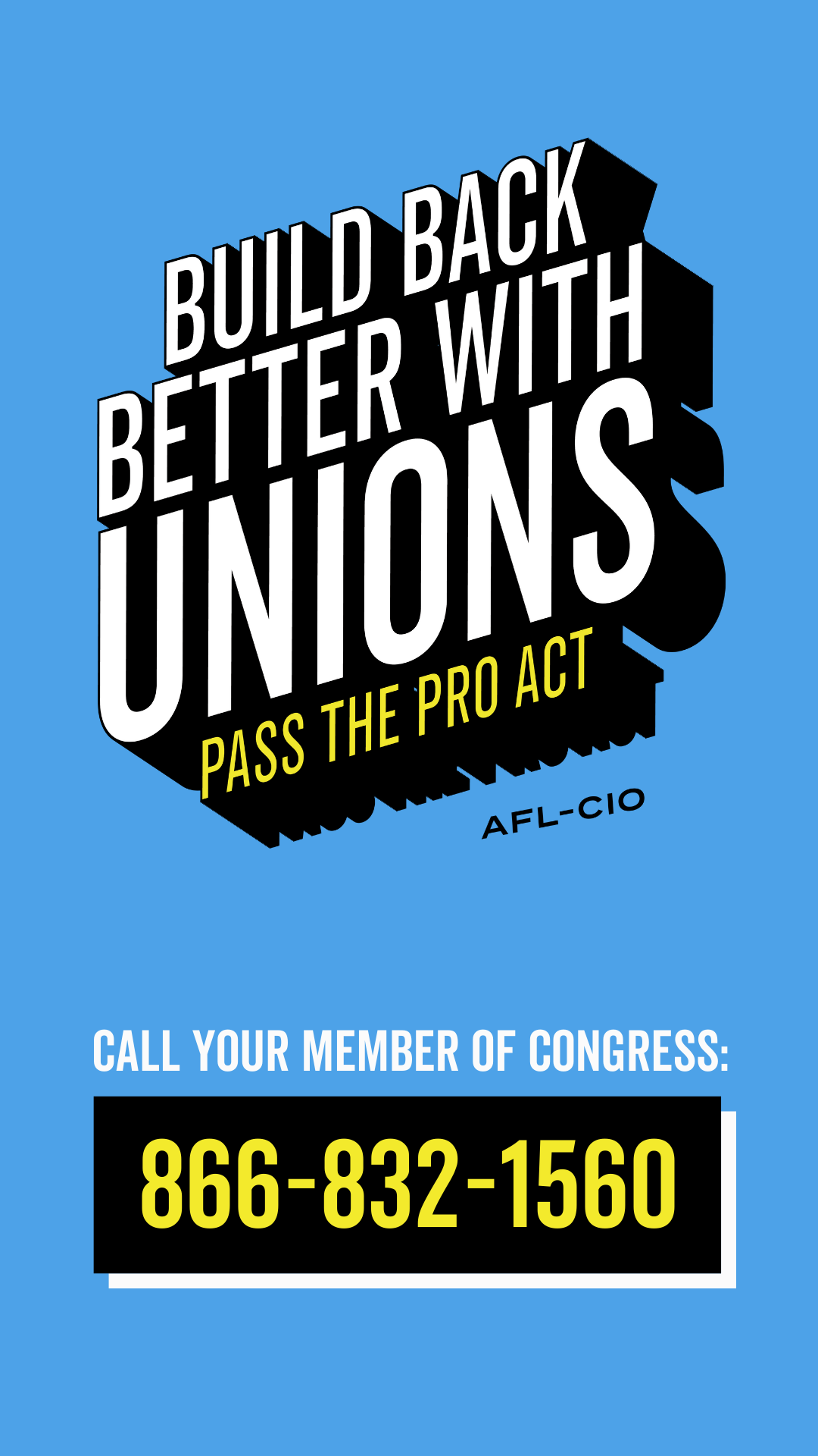 Build Back Better with Unions: Pass the PRO Act
